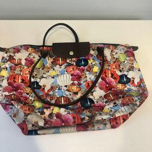 Longchamp Limited Ed Mary Katrantzou Le Pliage Bag